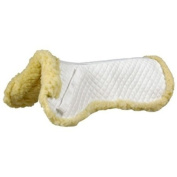 Fleece Wither Pad Standard White
