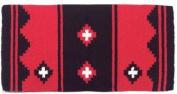 Mayatex Saddle Blanket - Apache - Black and Red
