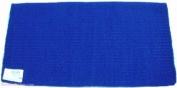 Mayatex Saddle Blanket - Wool San Juan Solid Barrel Racer/Arab - Royal Blue