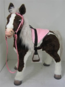 Butterscotch S'Mores Interactive Horse Saddle Set - Pink!