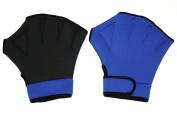 Water Aerobics Aqua Fit Swim Training Neoprene Webbed Gloves Women's S/M