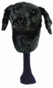 Golf Gifts and Gallery Black Lab Animal Headcover