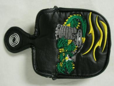 Odyssey custom putter cover dragon mallet