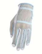 HJ Glove Women's Blue Solaire Full Length Golf Glove, Small, Right Hand