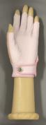 HJ Glove Women's Pink Solaire Half Length Golf Glove, Medium, Left Hand