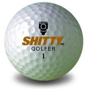 Shitty Golfer golf balls