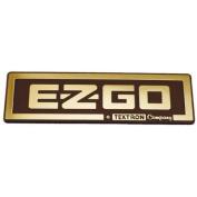 E-Z-GO 71037G02 Gold Nameplate E-Z-GO/A Textron Company