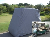 Deluxe 4 Passenger Golf Cart Cover roof 200cm L (Grey, Taupe, or Green), Fits E Z GO, Club Car and Yamaha G model - Fits GEM e2