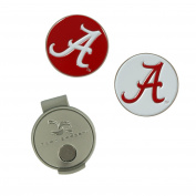 Alabama Crimson Tide Hat Clip and Ball Markers
