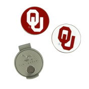 Oklahoma Sooners Hat Clip and Ball Markers