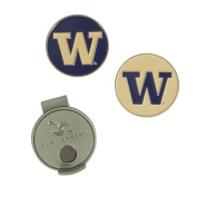 Washington Huskies Hat Clip and Ball Markers