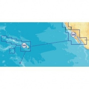 Navionics NAV-MSD/644P+ Platinum Southern California, Baja California, and Hawaii on SD/microSD Card