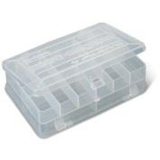 Plano 3414 Stowaway Micro Organiser Box, Clear