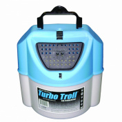 Challenge 50114 Turbo Troll Bait Bucket, 7.6l, White