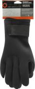 Celsius Deluxe Neoprene Fishing Gloves, Black, Large