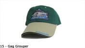 Florida Signature Fish Hat - GAG GROUPER