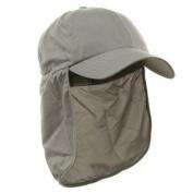 Foreign Legion Fishing Sun Flap Hat Grey