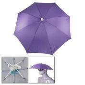Como Outdoor Sports Fishing Purple Rain Shade Umbrella Hat