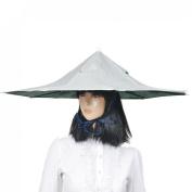 Como Camouflage Pattern Headband Fishing Camping Umbrella Hat Headwear