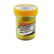 Berkley Powerbait Glitter Trout Bait, Rainblow, 50ml