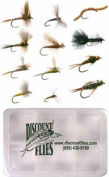 Western Fly Collection - 12 Trout Flies + Fly Box