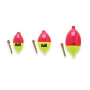 Thill Ice 'N Fly Special Float - Red/Yellow - 3 Pack - 3 Pack