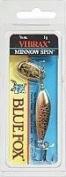 Blue Fox Vibrax Minnow Spinner, 3/470ml, Brown Trout/Gold