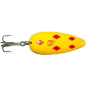 Original Dardevle Spoons (Yellow/Red Diamonds, 90ml) Multi-Coloured