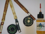 Liquid Bearings, TOP QUALITY 100%-synthetic oil for fly fishing reels, provides SUPERIOR Lubrication and Also Prevents corrosion!!