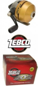 Zebco Spincast Fishing Reel Spooled with 4.5kg Line