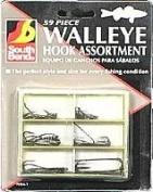 South Bends 59 Pc. Walleye Hook Assortment