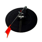 HT Enterprises Deluxe Polar Therm Tip - up Black with 200' Spool