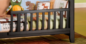 Child Craft Coventry Toddler Guard Rail for Lifetime Crib, Mahogany