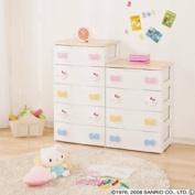Kids drawers Hello Kitty 56cm width 5 drawers