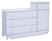 Emily Combo Dresser in Baby Blue