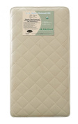 L A Baby Coconut 240 Coil Inner Spring Crib Mattress, Gold