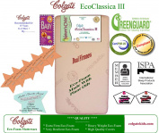 Colgate Eco Classica III Dual Firmness Eco-Friendlier Crib Mattress, Ecru