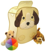 Puppy Toy Chest and Hamper