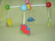 Russ Baby Bright Beginnings Hand Painted Mobile