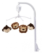NoJo Little Bedding Jungle Pals Musical Mobile