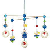 Heimess 760180 Pirate Wooden Ceiling Mobile