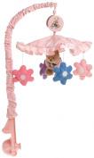 Springmaid Baby Blossom Bear Nursery Musical Mobile