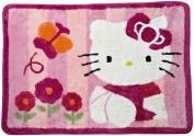 Lambs & Ivy Hello Kitty Garden Rug, Pink