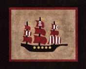 Treasure Cove Pirate Accent Floor Rug by Sweet Jojo Designs