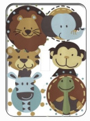 Jungle Animals Tales Single Toggle Light Switch Plate