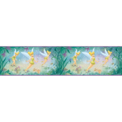 Blue Mountain Wallcoverings DS026271 Very Fairy Tinker Bell 12.7cm Self-Stick Wall Border