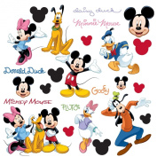 RoomMates RMK1507SCS Mickey and Friends Peel & Stick Wall Decal