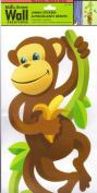 Lil Monkey Climbing Vine Wall Decal Decor
