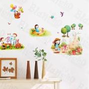 [Happy Life] Decorative Wall Stickers Appliques Decals Wall Decor Home Decor