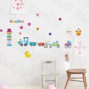 [Happy Trip] Decorative Wall Stickers Appliques Decals Wall Decor Home Decor
